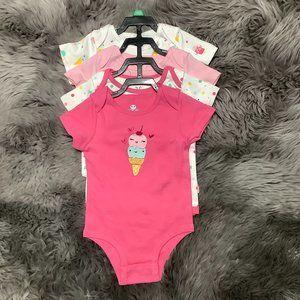 Rococo   Infant Girl's Bodysuit   4 Pieces